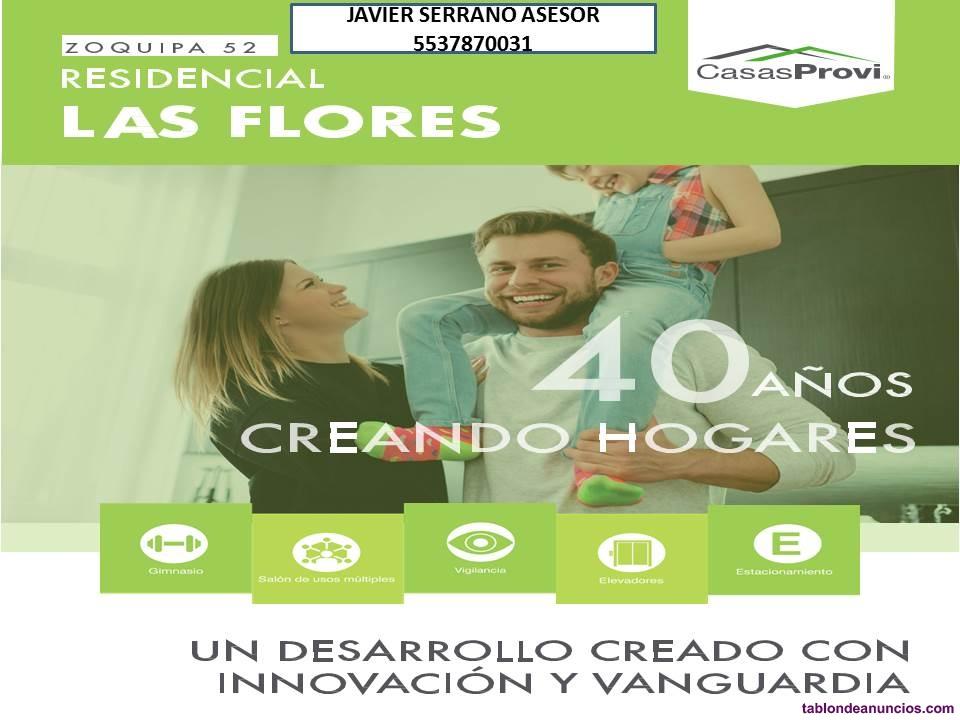Departamentos residencial las flores ii