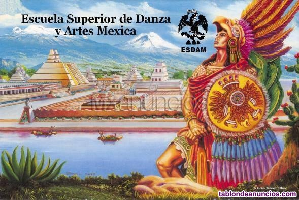 Carrera de danza azteca o mexicah