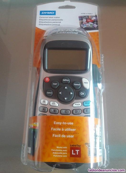 Dymo letra tag 100h - 100t rotuladora termica dymo