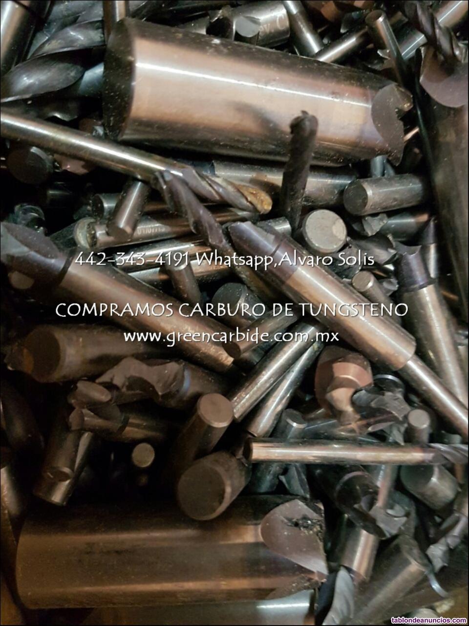 Desperdicio cortadores de carburo de tungsteno compra en irapuato