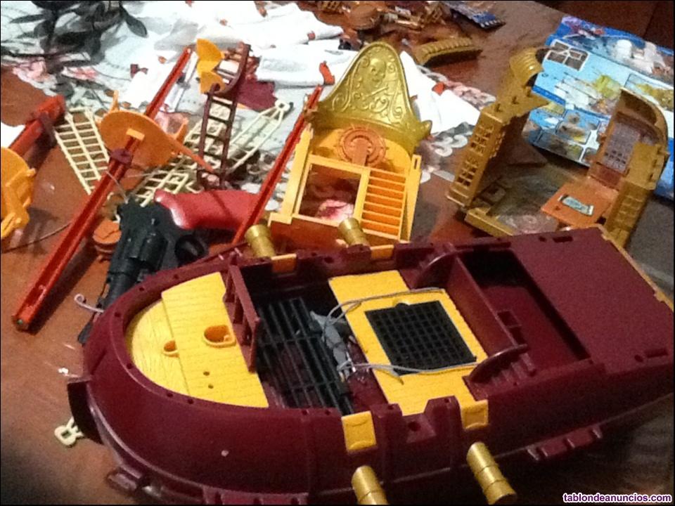 Venta de juguete nuevo barco grande de piezas piten pan