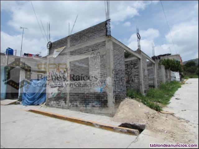 Terreno en venta, 120m2 esquina, tepetlac, ecatepec