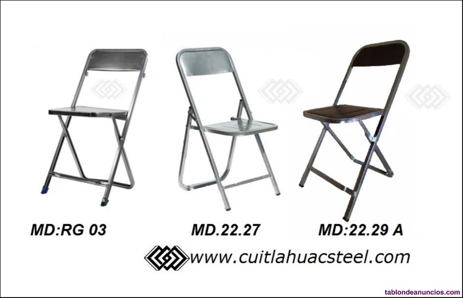 Venta silla metalica palenquera merda yucatan