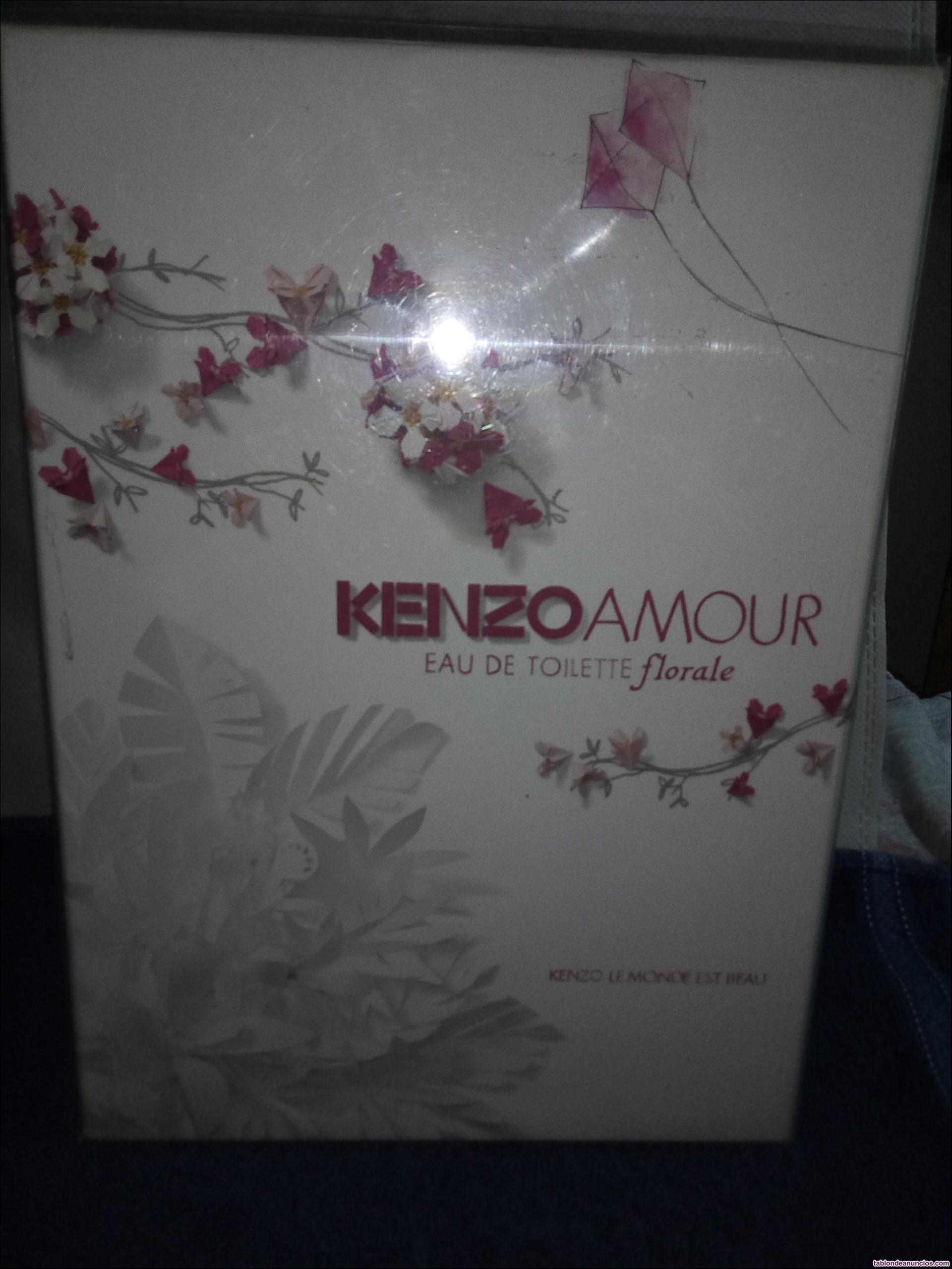 Estuche kenzo amour florale