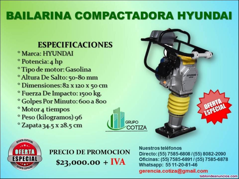 Compactadoras hyundai