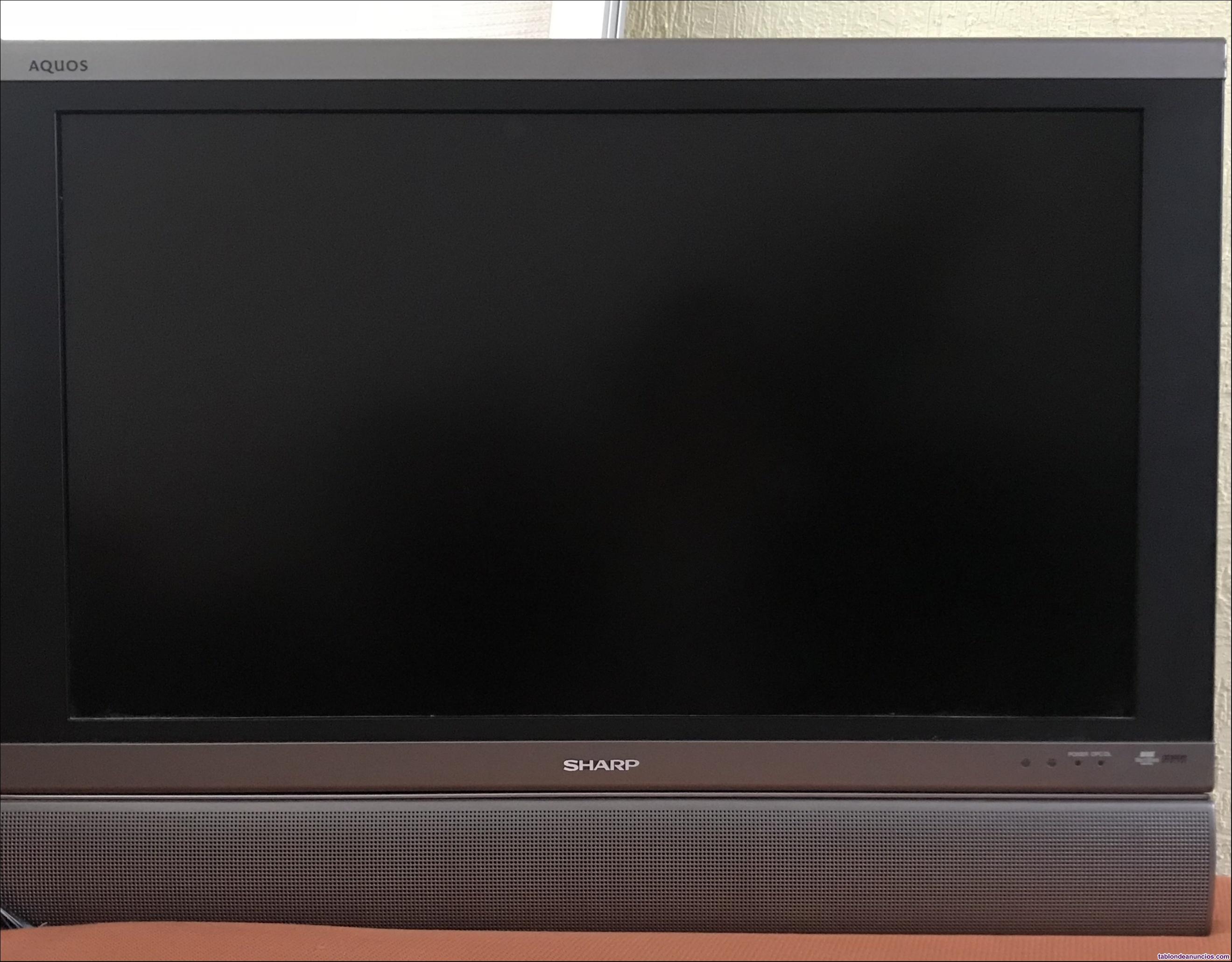 """Televisión sharp pantalla plana de 32"""""""