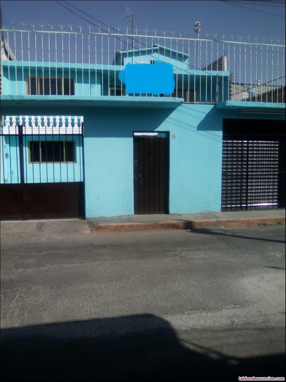 Casa en venta santiago acahualtepec con accesoria