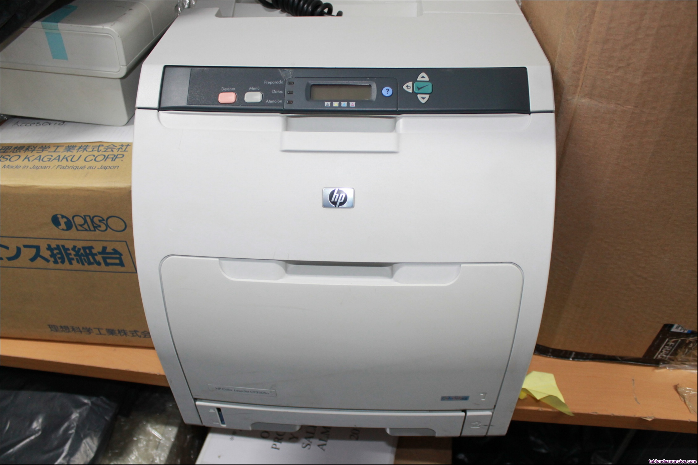 Impresora hp color laserjet cp3505n