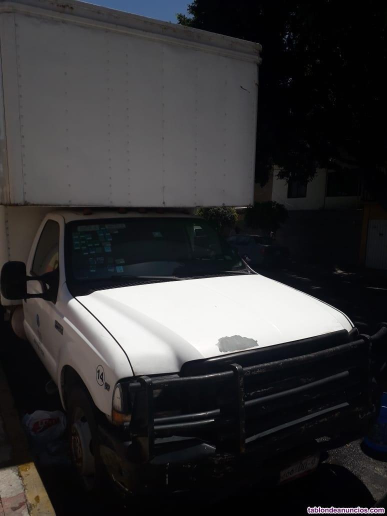 Camioneta mudancera ford 4.5 toneladas
