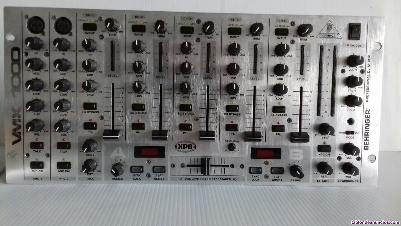 Pro mixer