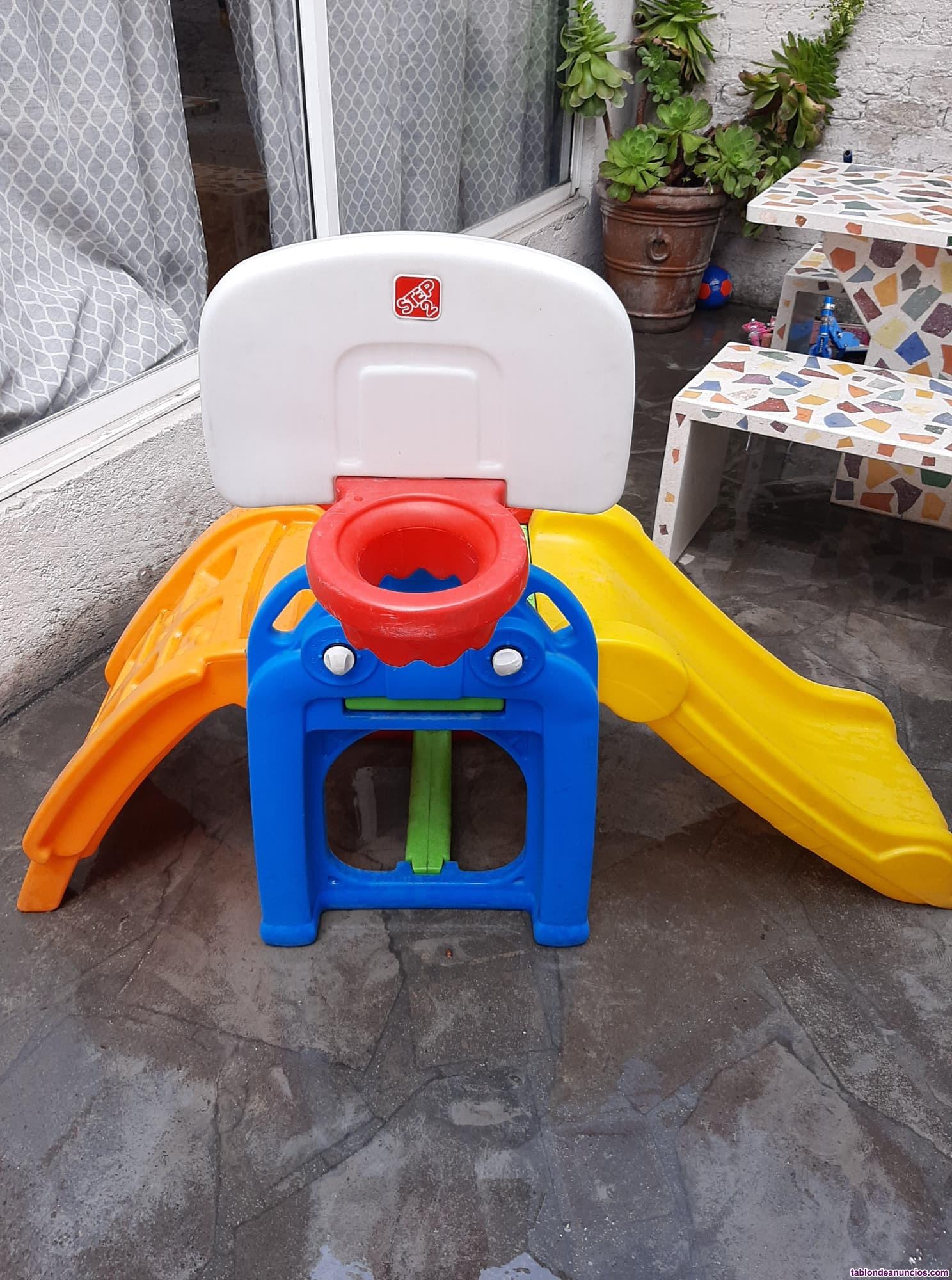 Tobogan resbaladilla step2 alll start sport juguetes niños