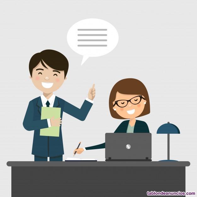 .contrato auxiliar de oficina