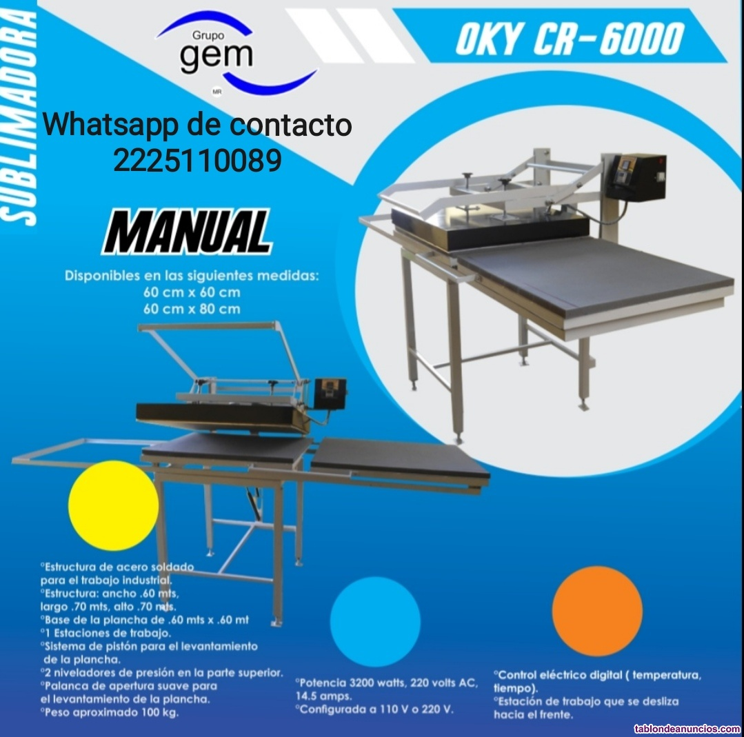Oky cr-6000, manual