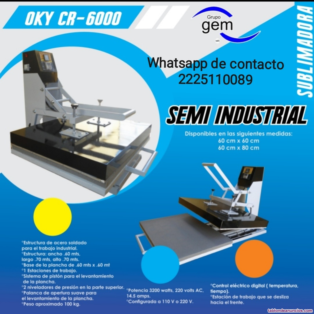 Oky cr-6000, semi industrial